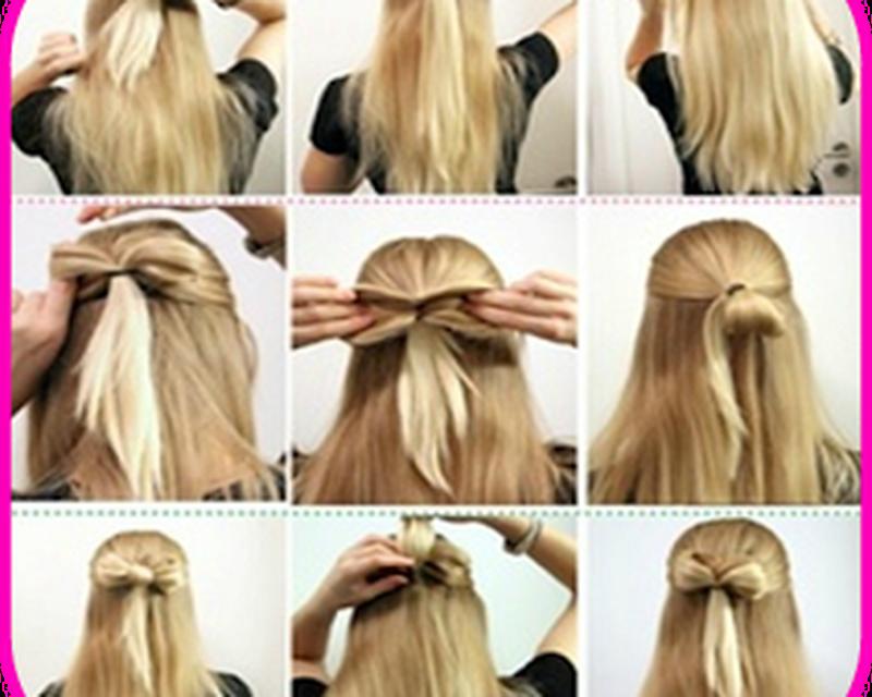 Как сделать красивую прически на длинные волосы