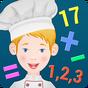 Criança Cozinheiro -Matemática