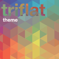 Tema Xperia™ - Triflat