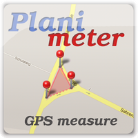 Planimeter medir área num mapa