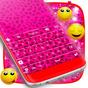 Розовый Cheetah Клавиатура