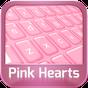 GO клавиатуры Pink Hearts