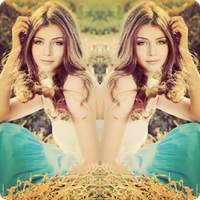 espelho Foto: Editor & Collage
