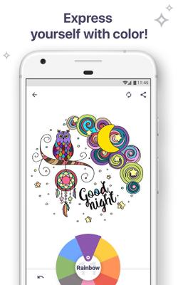 Screenshots Of Coloring Book For Me Mandala