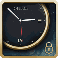CM Locker Tema Relógio de Luxo