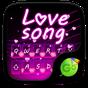 Love Song GO Keyboard Theme